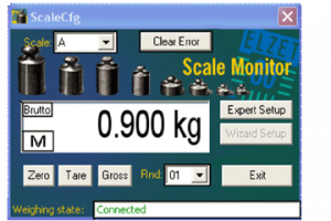 "PC-Software ""ScaleCfg"" LOADCELL"